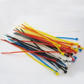 "Buy Lot Of 500 New 6"" Inch Multi Color Nylon Cable Wire Zip Ties Uv Resistant Nylon motorcycle in Miami, Florida, United States, for US $9.49"