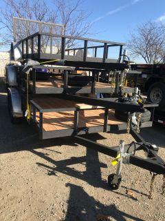 2018 Charmac Trailers 7' X 14' RUGGED STEEL UTILITY TRAILER Utility Trailers Elk Grove, CA