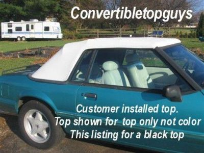 Buy 91-93 FORD MUSTANG CONVERTIBLE TOP AND CABLES motorcycle in South Kingstown, RI, US, for US $199.00