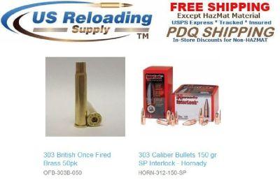 303 British Reloading Supplies