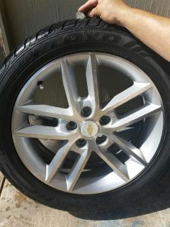Chevy Impala Stock Rims