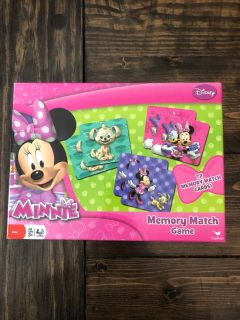 Minnie Mouse memory game excellent condition! All pieces included