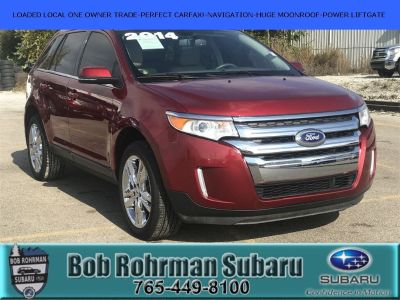 2014 Ford Edge Limited (Ruby Red Metallic Tinted Clearcoat)