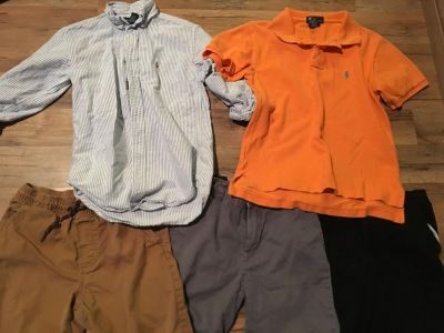 Boys size 8 name brand lot