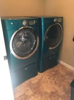 Front Loading Washer and Gas Dryer