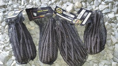 Black rubber worms halloween new