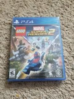 PS4 LEGO Marvel SUPERHEROES Game