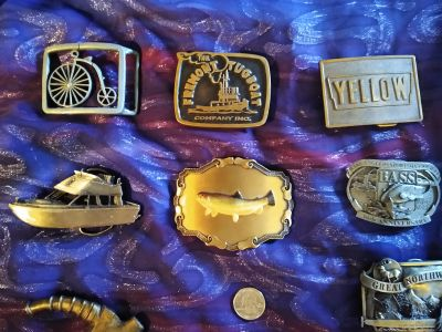 Collection if Belt Buckles ~ all for $80!!
