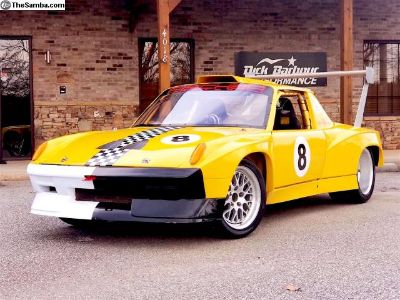 1975 Porsche 914/6 race Car