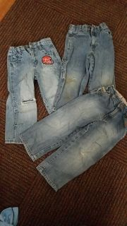 3 pairs of Boys 4T jeans