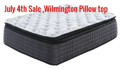 July 4 Sale, Wilmington Pillow top Hybrid Mattress Now only 399