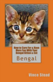 Bengal Kitten & Cat book