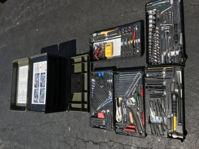 Portable mechanics tool box