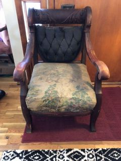 Beautiful Antique Project Chair