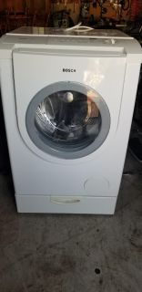 Bosch washer and dryer GUC