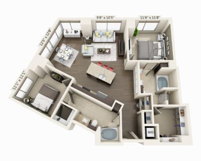 $9999 2 apartment in Waterfront