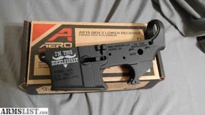 For Sale/Trade: I'm your Huckleberry AR lower receiver