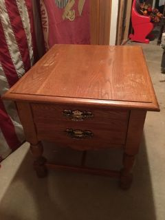 2 Broyhill End Tables