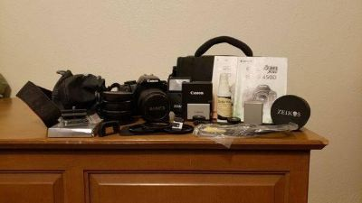 Canon rebel xsi camera and extras kit