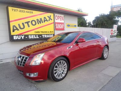 2012 Cadillac CTS 3.6L Performance (Red)