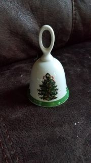 Bell with Christmas tree design