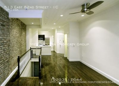 No Fee! Large 1 Bedroom Duplex w/ 1.5 Bathrooms, a Huge Private Patio and a Washer & Dryer in unit!