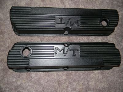 Vintage SBF 260 289 302 351W MICKEY THOMPSON valve covers 14