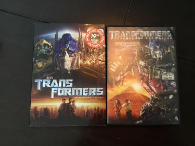 Transformers & Transformers Revenge of the Fallen. $2 each or 2 for $3