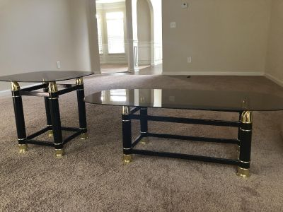 End and coffee table