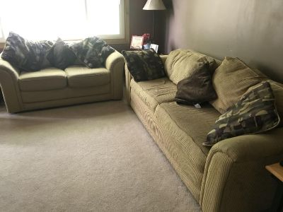 Couch, Loveseat & Endtables