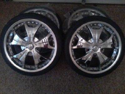 """$800 OBO 20"""" Tire and Rim Set"""