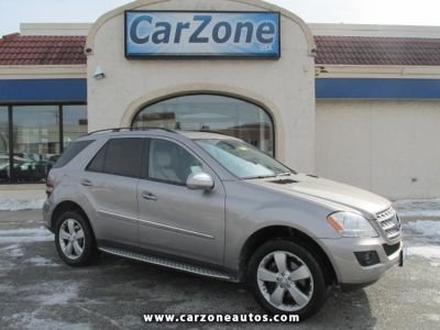 2009 Mercedes-Benz M-Class ML350 4MATIC with NAV and Bluetooth, Mileage: 98,787