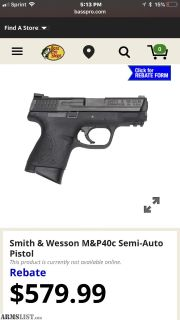 For Sale: M&P .40 C and accessories