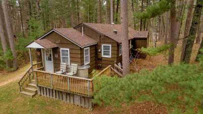 8410 Dunstad Road NISSWA Two BR, Year round cabin in the woods