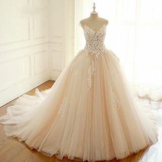 Tessa's Princess Cap Sleeve Wedding Gown