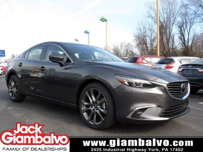 2017 Mazda Mazda6 Grand Touring (Machine Gray Metallic)