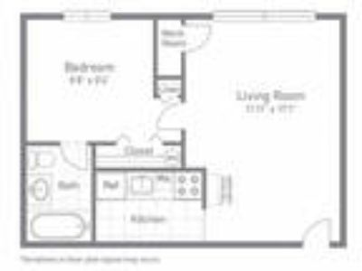 Woodlee Terrace Apartments - One BR One BA - 404sf
