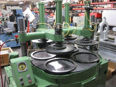 """LAPMASTER 48"""" Single Sided Lapping Machine w/Pneumatic Hold Downs"""