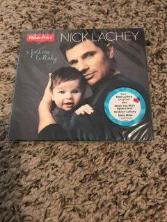 Nick Lachey lullaby cd Never opened!!