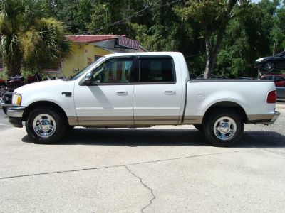2002 Ford F-150 King Ranch (White)