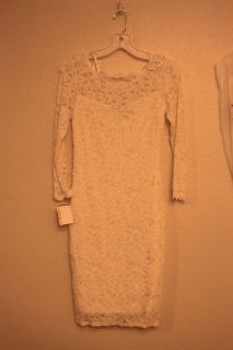 Wedding Dress Size 2 David's Bridal New With Tags