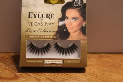 $8 Eylure Vegas nay Luxe Collections Mink Effect lashes Golden goddes