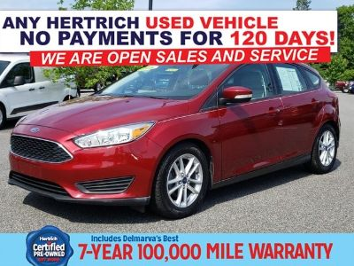 2016 Ford Focus SE (Ruby Red Metallic Tinted Clearcoat)