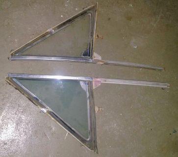1964 El Camino glass, misc door parts