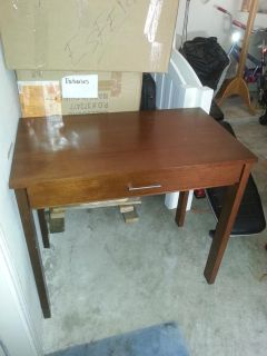 $100, Tall Side Table with Drawer