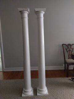 Salvaged Wood Columns