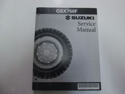 Buy 1990 91 92 93 94 95 96 1997 Suzuki GSX750F Service Repair Manual FADING OEM *** motorcycle in Sterling Heights, Michigan, United States, for US $29.99