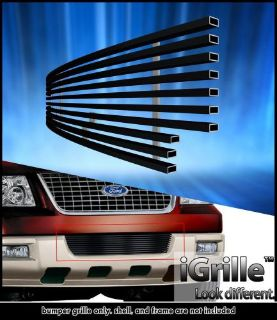 Find Fits 2003-2006 Ford Expedition Bumper Black Stainless Steel Billet Grille motorcycle in Ontario, California, United States, for US $30.00