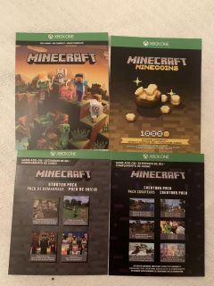 Xbox One Minecraft full game download with extras