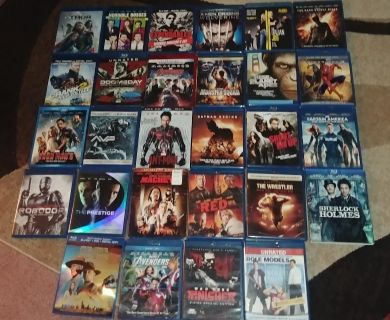 Lot of 28 Blueray movies